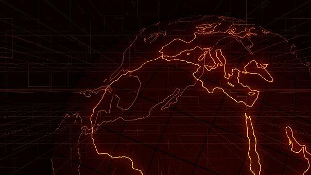 Country, Dark, Darkness, Data, Digital, Earth