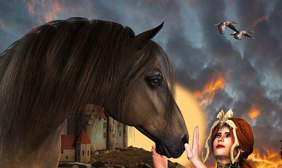 Horse, Period Piece, Fantasy, Mystery, Woman, Fairytale