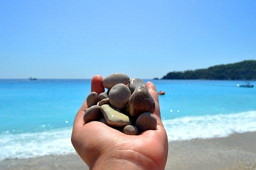Rocks, Hand, Sea, Rock, Stone, Hands, Prison, Nature