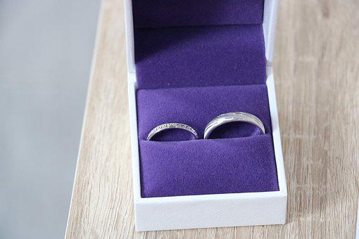 Wedding, Rings, Happy, Engagement, Marriage, Love