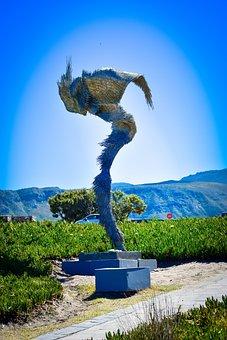 Art, Hermanus, South Africa, Sculpture, Wings
