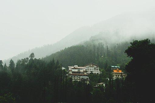 Mountain, Valley, Trekking, Hill, Manali, Himachal