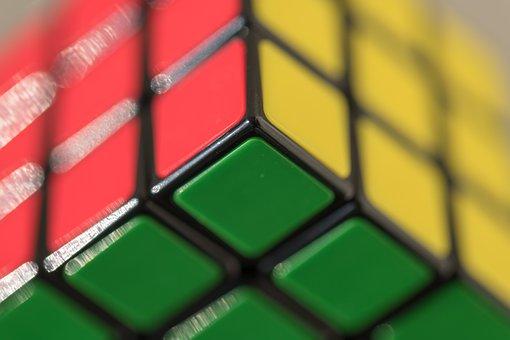Rubik, Rubik's Cube, Hot Girl, Puzzle, Game, Solution