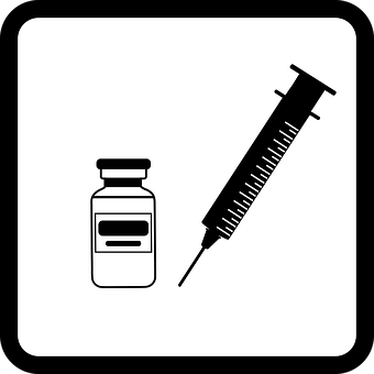 Icon, Vaccination, Inject, Injection, Syringe