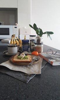 Coffee, Table, Mate, Dish, Linen, Cotton, Interior
