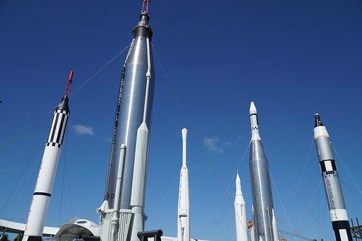 Nasa, Rocket, Old Rocketships, Kennedy Space Center