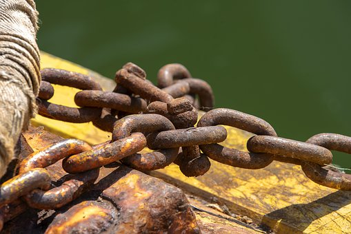 Chains, Rust, Knot, Metal, Rusty, Iron, Corrosion