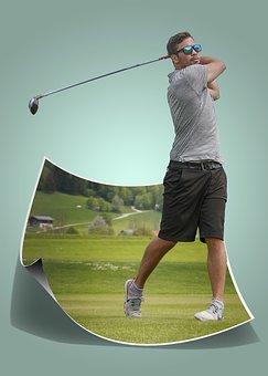 Man, Golf, Male, Golf Club, Golfing, Sport, Person