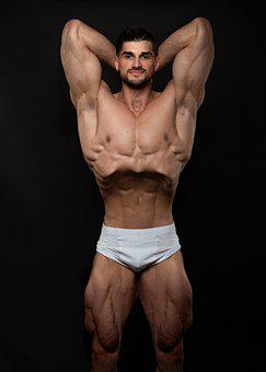 Man, Athlete, Bodybuilder, Sportsmen, Fit, Male