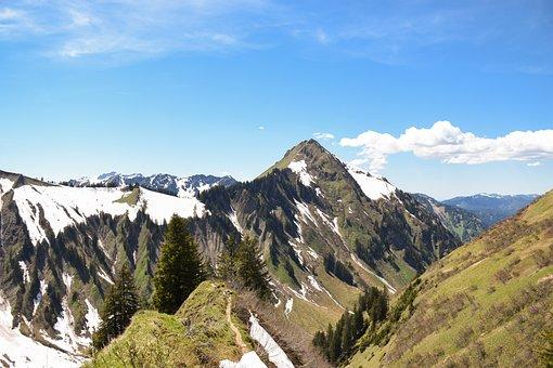 Alps, Bavaria, Mountains, Landscape, Alpine, Germany