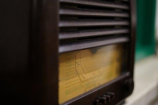 Vintage, Radio, Old, Retro, Nostalgia, Music, Broadcast