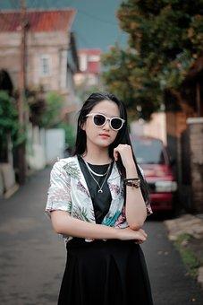 Model, Photoshoot, Girl, Fashion, Portrait, Woman