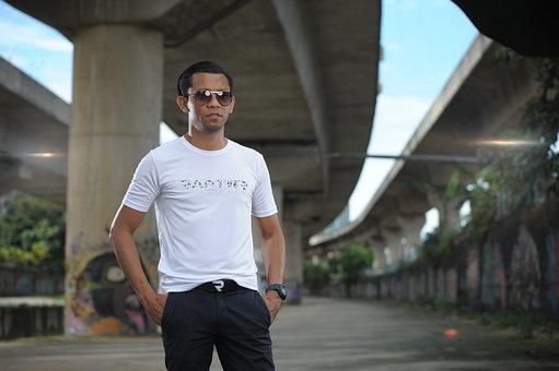 Man, Model, Casual, Fashion, Urban, Streetwear, Shirt