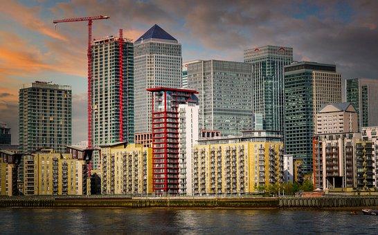 Buildings, River, City, Cityscape, Skyline, Skyscrapers