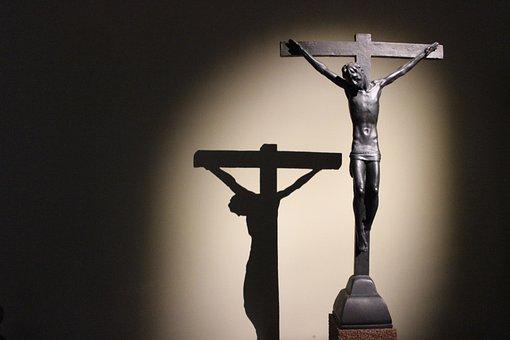 Christ, Jesus, Statue, Cross, Christianity, Religion