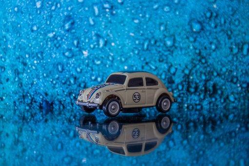Auto, Dare, Volkswagen, Herbie, Beetle, Oldtimer, Pkw