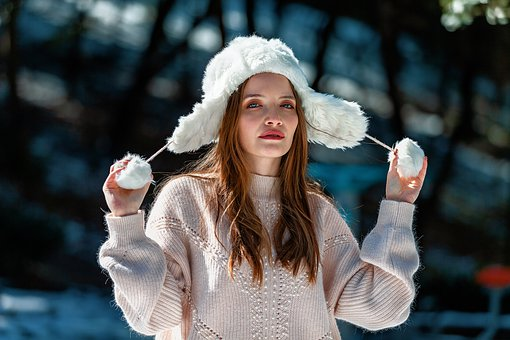 Woman, Fashion, Winter, Beauty, Hat, Winter Hat