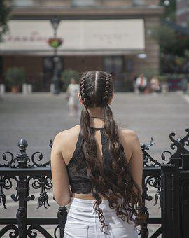 Hair, Woman, Hairstyle, Fashion, Model, Braided, Young