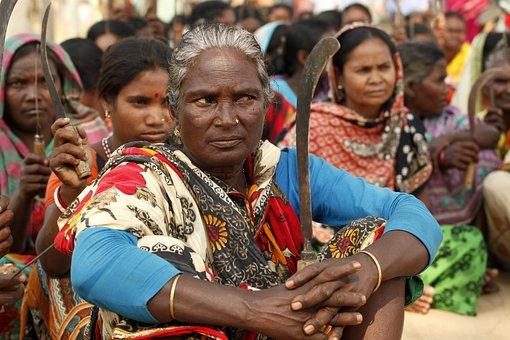 Women, Workers, Protest, Ethnic, Ethnic Women, People