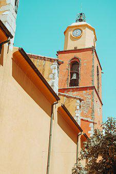 Bell Tower, Church, Town, Building, Tower, Exterior