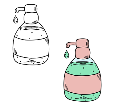Alcohol Gel, Soap, Bottle, Hand Sanitizer, Dispenser