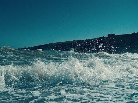 Wave, Beach, Sea, Surf, Summer, Costa, Sand, Landscape