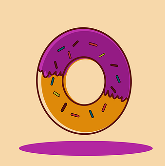 Donut, Food, Eating, Donuts, Cake