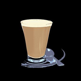 Drink, Coffee Break, Advert, Template, Sign, Cup