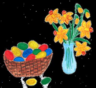 Easter, Easter Eggs, Spring, Eggs, Colored Eggs