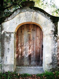 Door, Wooden, Entrance