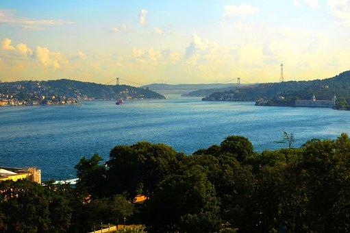 Turkey, Istanbul, Ferry, Ship, City, Tourism, Islamic