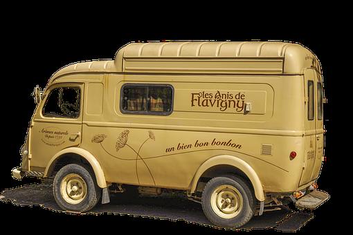 Van, Oldtimer, Flavigny