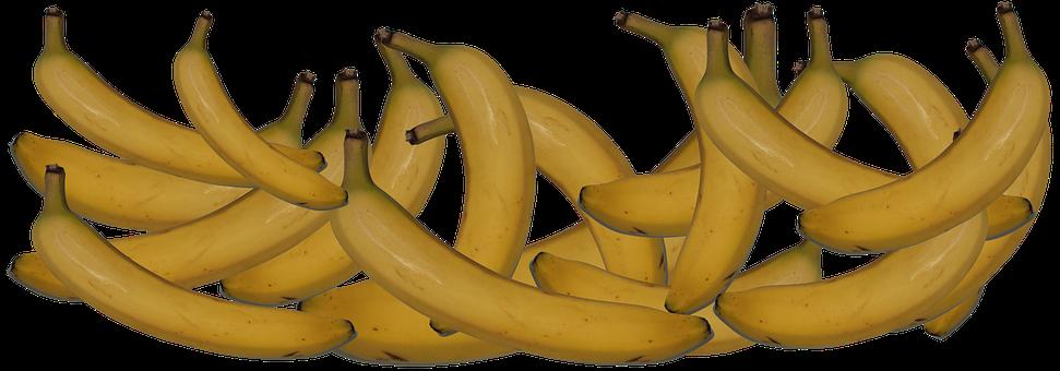 Bananas, Fruit, Food, Healthy, Diet, Nutrition, Header