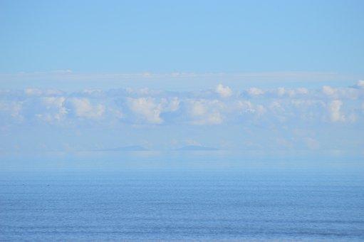 Sea, Isle Of Man, Water, Nature, Panoramic, Isle