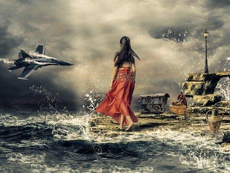 Gypsy, Culture, Jet, Ocean