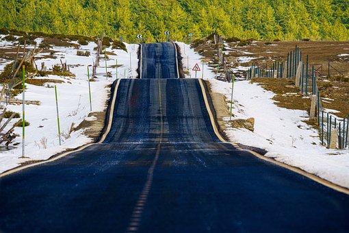 Road, Lead, Travel, Asphalt, Movement, Straight