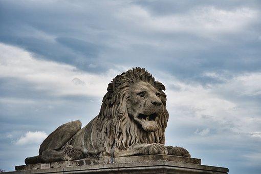 Lion, Stone, Sculpture, Monument, Statue, Figure