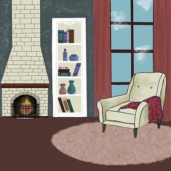 Living Room, Armchair, Interior Design, Lounge