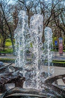 Water, Fountain, Mineral Water, Wet, Moist