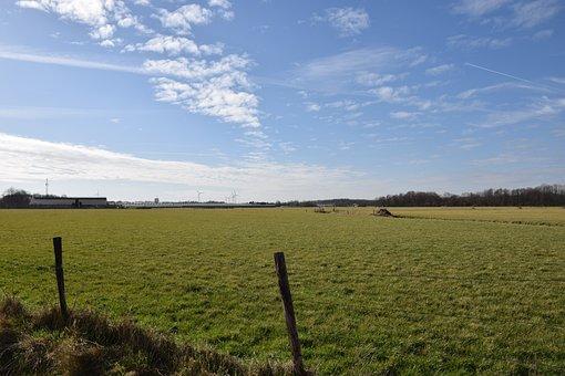Landscape, Holland, Netherlands, Polder, Countryside