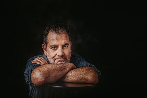 Man, Portrait, Sad, Sadness, Depression, Alone, Stress