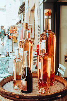 Bottles, Wine, Restaurant, Wine Bottles, Alcohol