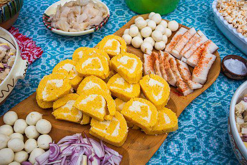 Sweets, Fresh, Traditional Food, Romanian Food