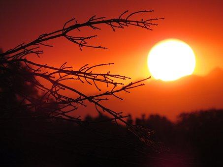 Sunset, Mountains, Landscape, Dusk, Scenic, Nature