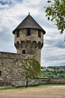 Tower, Castle, Fortification, Medieval, Architecture