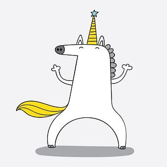 Unicorn, Fantasy, Cartoon, Cute, Magic, Dream, Design