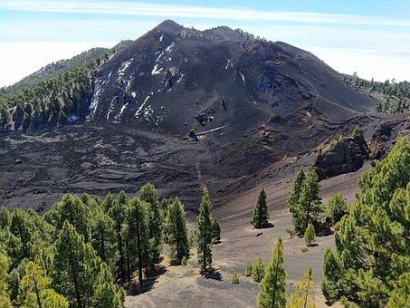 Volcano, Caldera, Nature, Landscape, Travel, Mountain