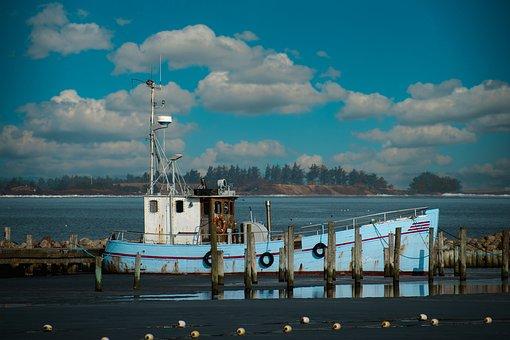 Boat, Sea, Dock, Moored, Sailboat, Pier, Jetty, Water