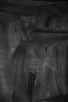 Chalkboard, Dark Background, Texture, Dark, White