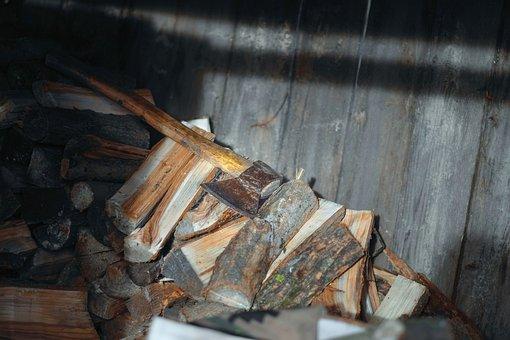 Axe, Firewood, Ax, Tool, Lumberjack, Timber, Lumber